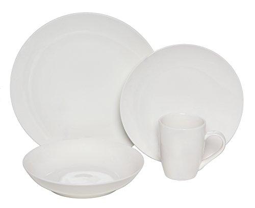 Melange 16 Piece Porcelain Setting Serving