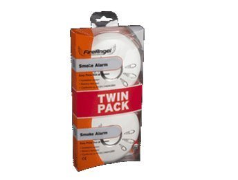 Fireangel Twin pack Ionisation smoke alarms