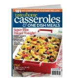 Taste Of Home - Casseroles & One Dish Meals Magazine. 2012.