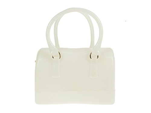 K005 Patent White Shoulder Glitter Sugar Bag Doctor PU Designer Bags Jelly Sweet Ladies Bag Handbag 1nOFwqa