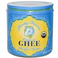 Ghee, 95% organic, Clarified Butter, 13 oz ( Multi-Pack) by Purity Farms by Purity Farms (Image #1)