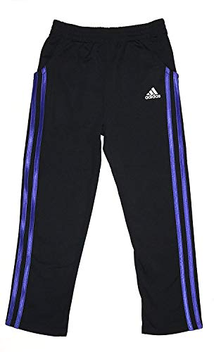 adidas Girls Tricot Zip Jacket and Pant Set (6X, Purple)
