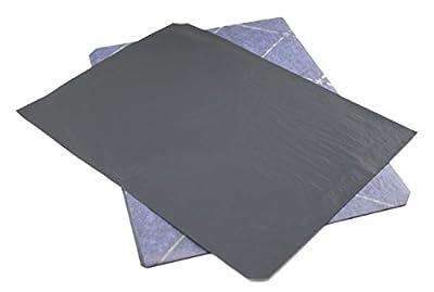 Porelon Black Carbon Paper, 8.5 x 11 Inches, 25 Sheets (11407)