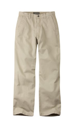 Mountain Khakis Men's Teton Twill Pant Relaxed Fit, Sand, 40x34