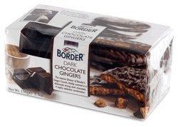 Border Dark Chocolate Ginger Crunch 175g X 4 Pack