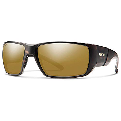 (Smith Transfer XL ChromaPop+ Polarized Sunglasses, Matte Tortoise, Bronze Mirror Lens)