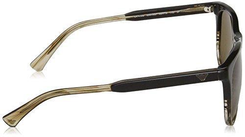 Sonnenbrille Striped Brown Brown Tr 556783 Armani EA4099 Emporio 7FxHff