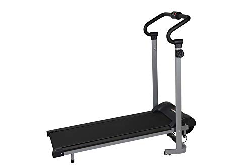 Confidence Fitness Magnetic Manual Treadmill with Mat