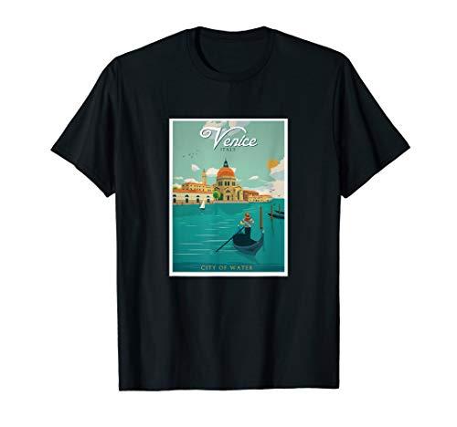 (Vintage Venice Italy Postcard T-Shirt)