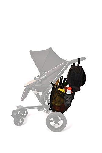 Andone Dynamic Walks, bolso 2 en 1 para cochecitos y sillitas de bebé, con cesta desplegable en su bolsillo inferior.