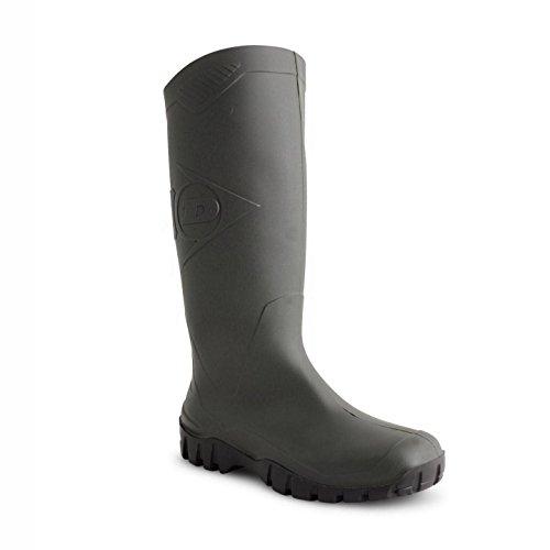 Dunlop - Botas de agua de trabajo adultos unisex Verde - verde