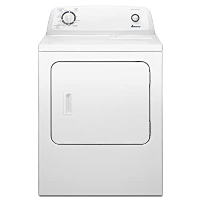 Amana NED4655E 29 Inch Wide 6.5 Cu. Ft. Electric Dryer with Automatic Dryness Co,