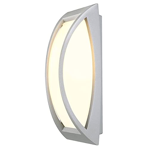 Slv mianda - Luminaria exterior e27 60w/energysaver gris plata