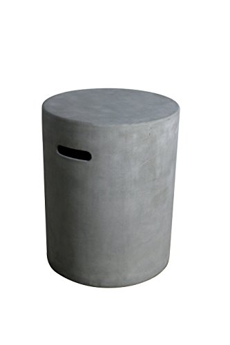 (Elementi Propane Tank Cover Lunar Bowl and Amish Fire Table)
