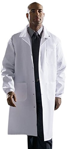 Knee Length Lab Coat - 6