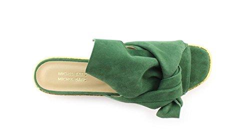 17116 Camoscio Taglia Sandalo Verde Colore Verde MICHEL 37 BATIC nZBxwEHR