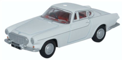 Volvo P1800, White, 0, Model Car, Ready-made, Oxford (Volvo Model)
