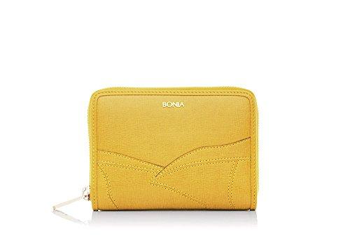 bonia-womens-yellow-grand-canal-petite-purse