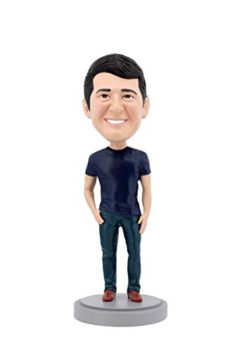 (Personalized Custom Bobblehead - Casual Male in Jeans)