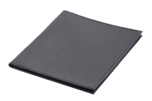 5cm Véritable cartes Louana 12x9x0 Cuir Porte Noir pY74tpwnqx
