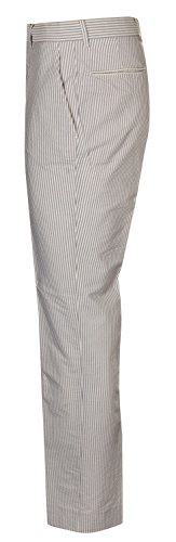 Gant Hommes Pantalon-Chino Bleu/Blanc A.P. Seersucker Pant R. 1501104-467