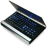 IOGEAR 2.4G Hz Multimedia Mini Keyboard with Trackball, Scroll Wheel and Backlight LED, GKM571R (Black)