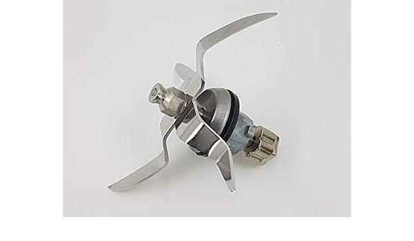 T-MIX Cuchillas DE Acero para Robot DE Cocina Monsieur Cuisine Connect, Robot SILVERCREST del LIDL.: Amazon.es