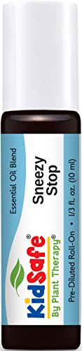 Diluted Absolute Oil (Plant Therapy KidSafe Sneezy Stop Synergy Pre-Diluted Essential Oil Roll-On. Ready to use! Blend of: Fir Needle, Lavender, Geranium Egypt, Blue Tansy and Rose Absolute. 10 ml (1/3 oz).)
