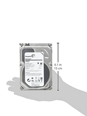 Seagate 4TB Desktop HDD SATA 6Gb/s 64MB Cache 3.5-Inch Internal Bare Drive (ST4000DM000) by SEAGATE