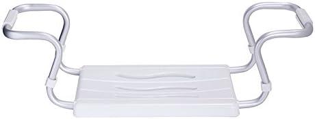 ausziehbar Anthrazit 55-70 x 18 x 26 cm Aluminium Badewannensitz 150 kg Tragkraft Kunststoff