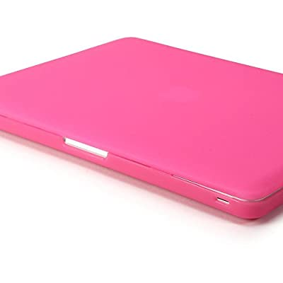 GMYLE Soft-Touch Frosted Hard Case for Macbook Pro 13 inch with CD-ROM (Model: A1278) - Rose Red from GMYLE