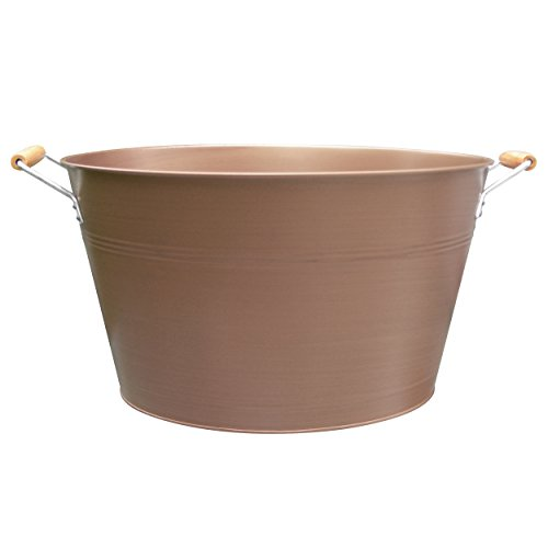 Artland Oasis Oval Party Tub, Antique Copper - Antique Copper Tabletop