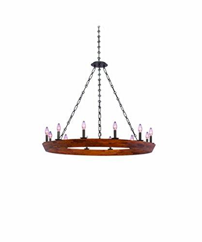 Kalco Lighting 505552BI 12 Light Chandelier, 45.5