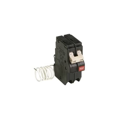 Image of Arc Fault Circuit Breakers Eaton CH250GF CH Series 2-pole GFCI Breaker, 3/4', 120 VAC, 50 AMPS