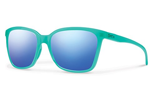 Smith Colette Carbonic Sunglasses, Carbonic Blue Flash Mirror Lens, - Women Smith Sunglasses