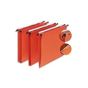 5 Etoiles ETL-915374 - Carpetas colgantes para archivador (25 unidades, 30 mm), color naranja: Amazon.es: Oficina y papelería