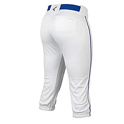 2020 Easton PROWESS Fastpitch Softball Pant Elastic Waistband Double Reinforced Knee 4 Way Stretch Mesh Inserts for Ultimate Fit Solids Scotchgard 7 Belt Loop Comfort Womens