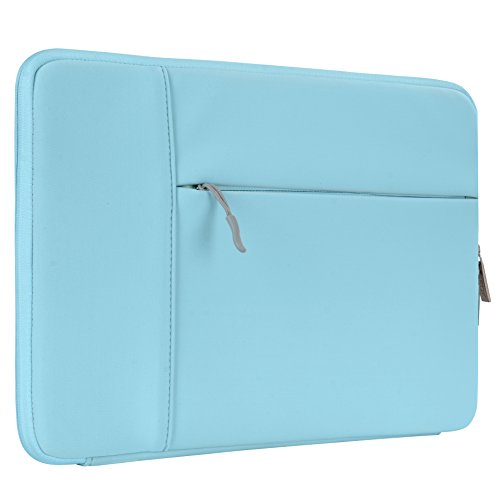Laptop Free Neoprene Case (HSEOK 13-13.3 Inch Laptop Sleeve Case, Environmental-Friendly Spill-Resistant Sleeve for 13-Inch MacBook Air 2012-2017, MacBook Pro Retina 2012-2015/Pro 2012 A1278 and Most 14-Inch Laptop, Teal)