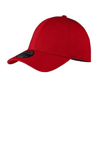 New Era Tech Mesh Cap, Scarlet, Large/X-Large (Era New Stretch)
