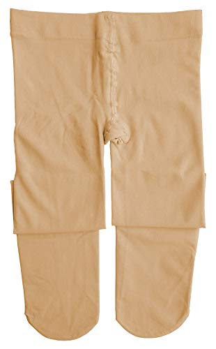 Dancina Ballet Tights for Girls Super Ultra Soft Everyday casual Wear Stockings S (3-5) Suntan -