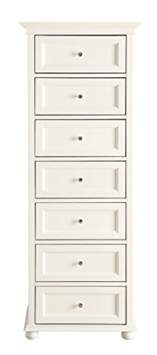 Capri Seven Drawers Storage Cabinet by FORMOSA LIVING PRODUCTS