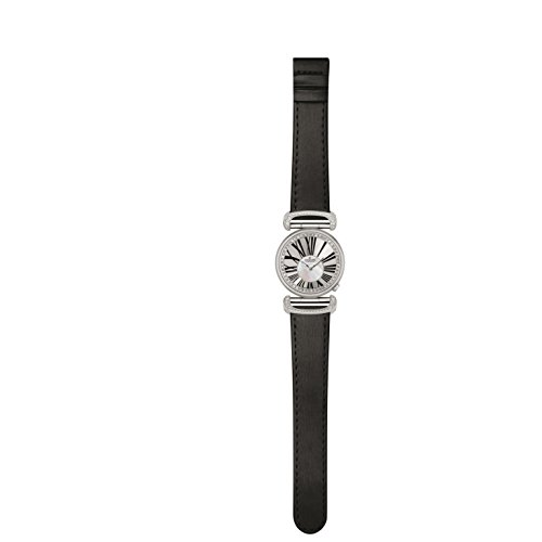 Charmex Malibu 6281 32mm Stainless Steel Case Black Calfskin Synthetic Sapphire Women's Watch