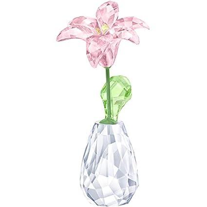 04e3ad161d3 Amazon.com: Swarovski Crystal Flower Dreams - Lily Decoration ...