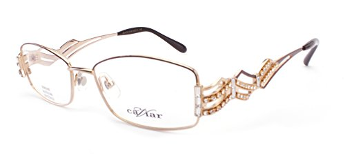 Caviar Womens Eyeglasses M1672-C16 Optical Frame 53mm (Caviar Glasses)
