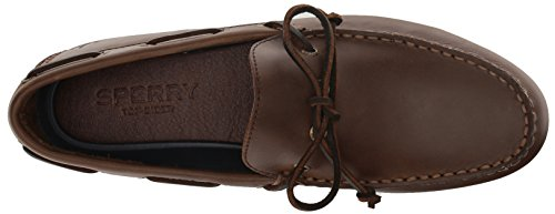 Sperry Top-sider Heren Hamilton Ii 1-eye Rijstijl Loafer, Donkerbruin, 11,5 Breed Ons