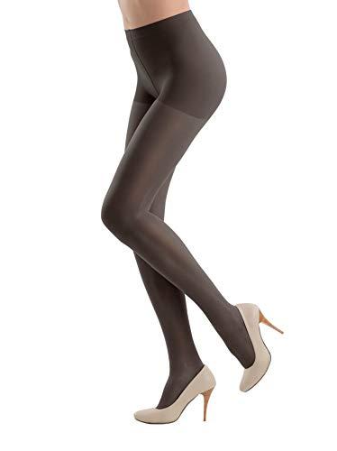 CONTE ELEGANT Womens Tights, Active Soft, 40 denier, Color: Nero, Size: 6 (1012940036)