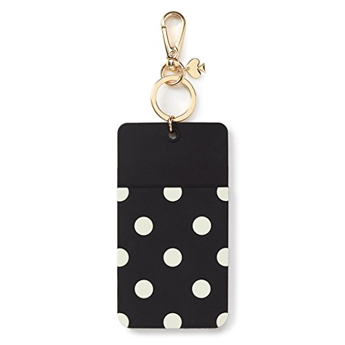 Kate Spade New York Women's Id Clip, Black Dot, (M Necklace Kate Spade)