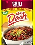 Mrs Dash Salt Free Chili Mix (1.25 oz Packets) 4 Pack
