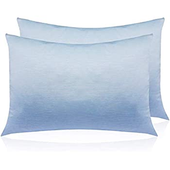 Amazon Com Gunap Pillowcases Cool Silky Soft And Cooling