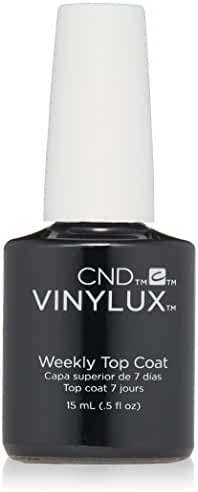 CND Vinylux Weekly Top Coat Nail Polish, 0.5 oz